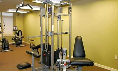 Fitness Weight Room, Midtown Lofts, 2