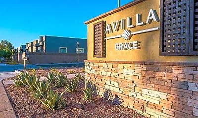 Community Signage, Avilla Grace, 1
