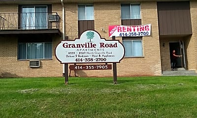Granville Road Apartments, 1