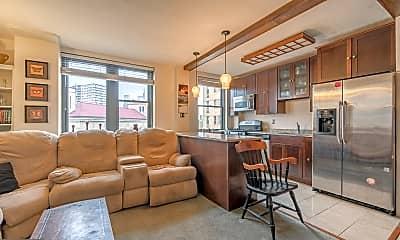 Living Room, 2601 Pennsylvania Ave 553, 1