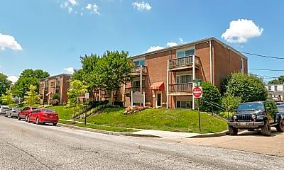 Building, Wyman Court Apartments, 0