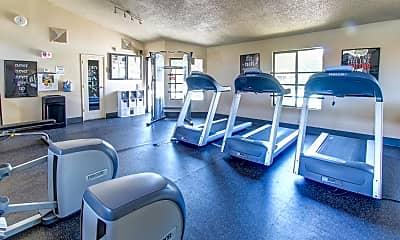 Fitness Weight Room, Summit Ridge, 2