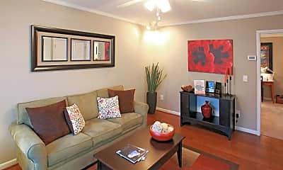 Living Room, Eagles West Apartments, 1