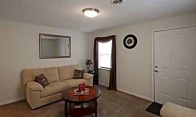 Living Room, Garden Lake Estates, LP, 1
