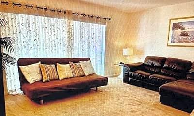Living Room, 10290 N Military Trl 7A, 1