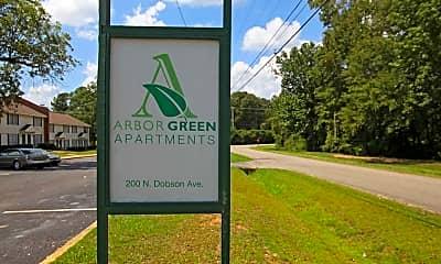 Community Signage, Arbor Green Apartments, 2
