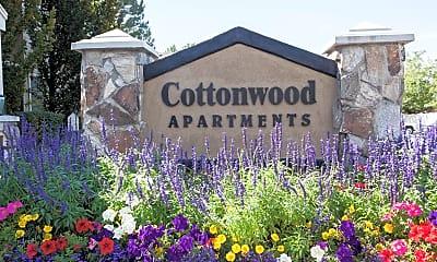Community Signage, Cottonwood, 1