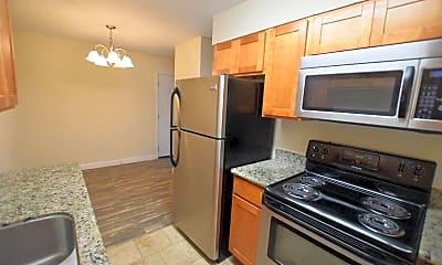 Kitchen, Castlegate Apartments, 0