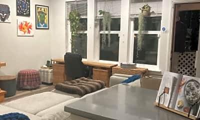 Living Room, 1225 F St, 1