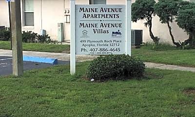 Maine Avenue Apartments & Villas, 1