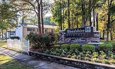Community Signage, Woodshire, 2