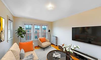 Living Room, 15 Glenville Avenue, Unit 19, 0
