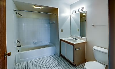Bathroom, Honey Creek, 2