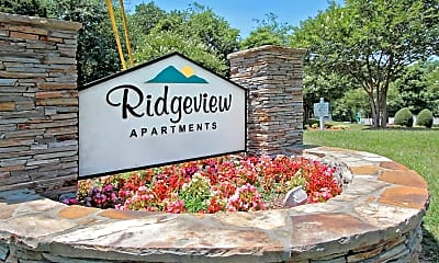 Community Signage, Ridgeview, 2