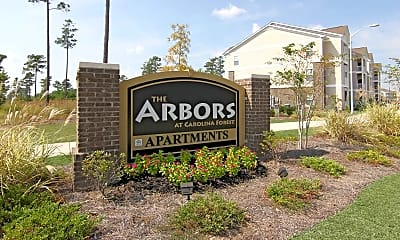 Community Signage, The Arbors At Carolina Forest, 2