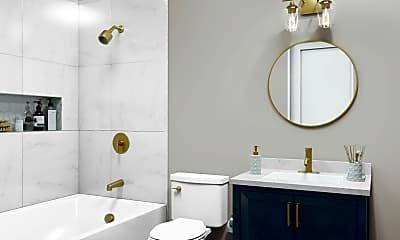 Bathroom, 536 E Broadway, 1