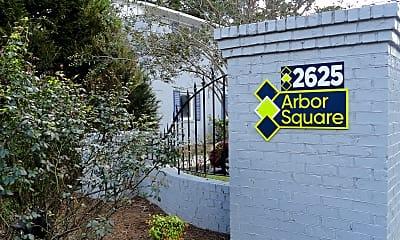 Community Signage, Arbor Square, 2