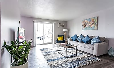 Living Room, Smartland Breakwater Tower Apartments, 0