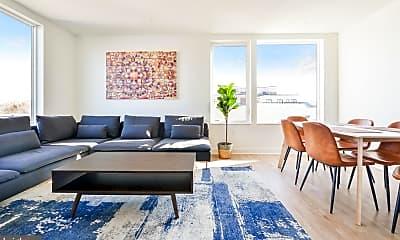 Living Room, 1326 Florida Ave NE 201, 1