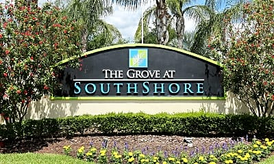 Community Signage, Grove at SouthShore, 2