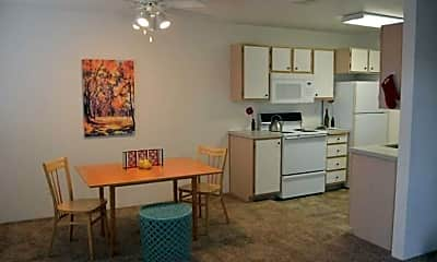Dining Room, Cornerstone Apartments, 0