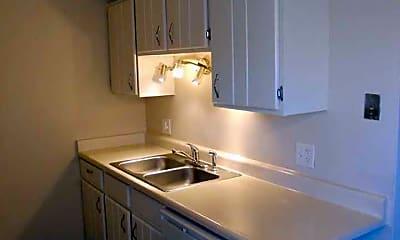 Kitchen, Golden Arms, 2