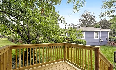 Patio / Deck, Room for Rent -  less than a minute walk to bus st, 2