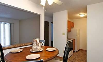 Dining Room, Park Forest Apartments, 0