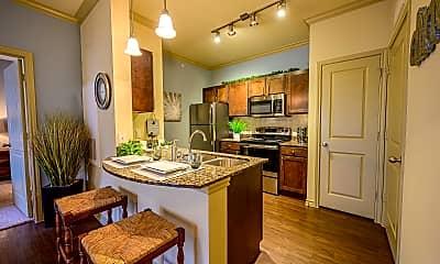 Kitchen, Pecan Springs Apartments, 1