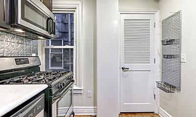 Kitchen, Wayne & Waldorf Apartments, 1