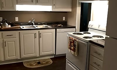 Kitchen, Olivewood Apartments, 1