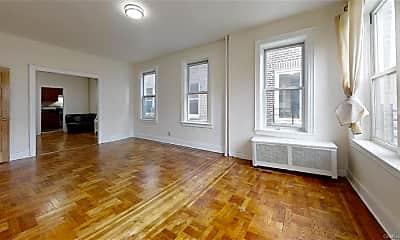 Living Room, 644 W 207th St, 0