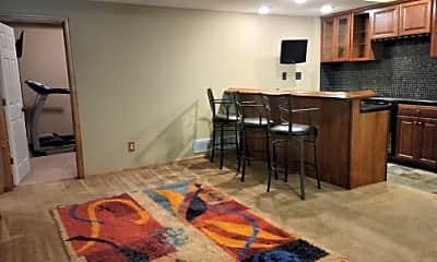 Living Room, 7416 Kestrel Trail  ( PRIVATE GOUND FLOOR), 1