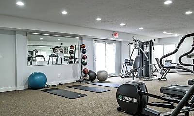 Fitness Weight Room, Lawrence Landing, 2