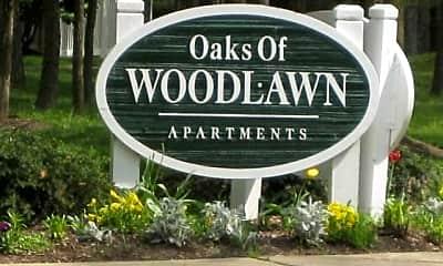Community Signage, Oaks of Woodlawn, 1