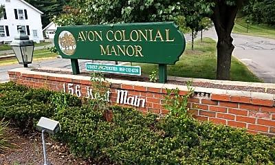 Avon Colonial Manor, 1