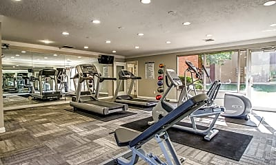 Fitness Weight Room, Wasatch Club, 2