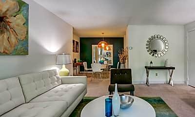 Living Room, Royal Crest Estates Apartments, 1