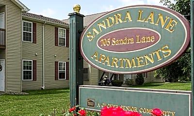 Community Signage, Sandra Lane Senior Apartments, 2