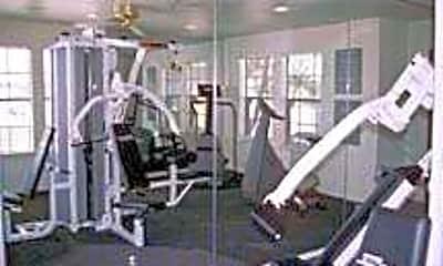 Fitness Weight Room, Cambridge Village, 1