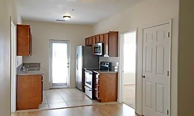 Kitchen, Faraday Apartments, 0