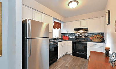 Kitchen, Bridgewater Apartments, 1