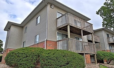 Building, Hollybrook Apartments, 1