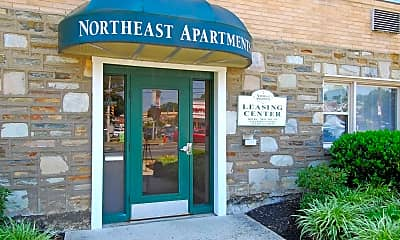 Community Signage, Northeast Apartments, 1