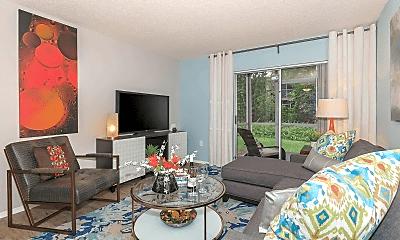 Living Room, Arbor Oaks, 1