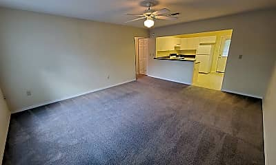 Living Room, 6830 Hunt St D, 0