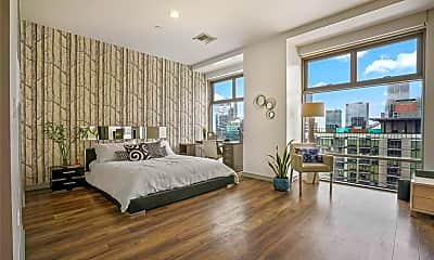 Bedroom, 801 S Grand Ave 1903, 0