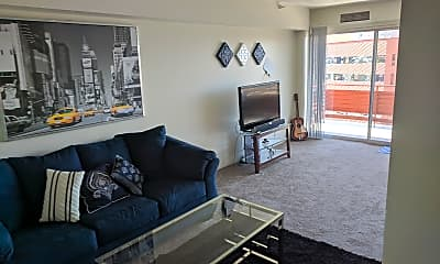 Living Room, Redondo Tower, 2