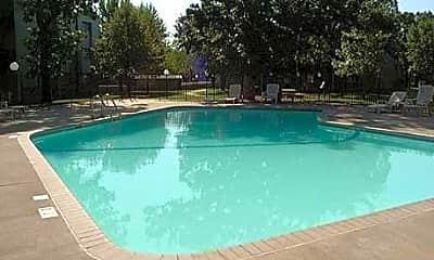 Pool, Windsor Oaks Apartments, 1