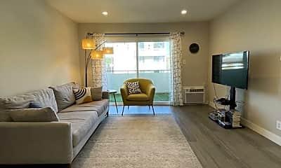 Living Room, 1051 S Sherbourne Dr 4, 0